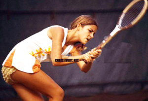 "Photo of L E's Stories – Our Salute To  Chris Evert:  "" The Ice Maiden Of Tennis"""